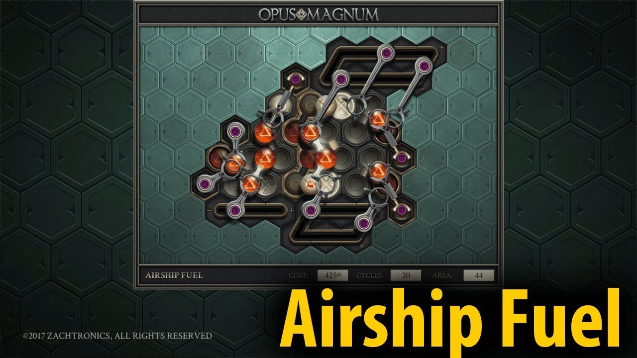 Airship Fuel 40 19 10 Opus Magnum 7 Let S Play With Lyte Youtube