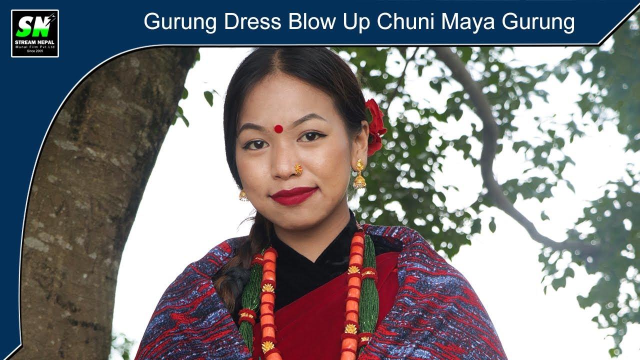 Gurung Dress Blow Up | Chuni Maya Gurung