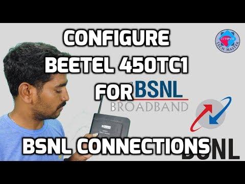 BEETEL 450Tc1 Wifi Modem Configuration For BSNL Broadband - Tamil News HD -தமிழில்