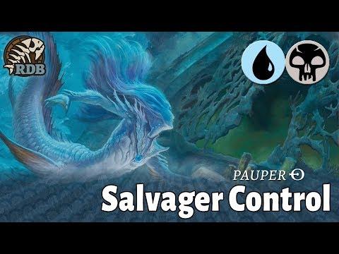 Pauper on Magic Arena! Dimir Salvager Control