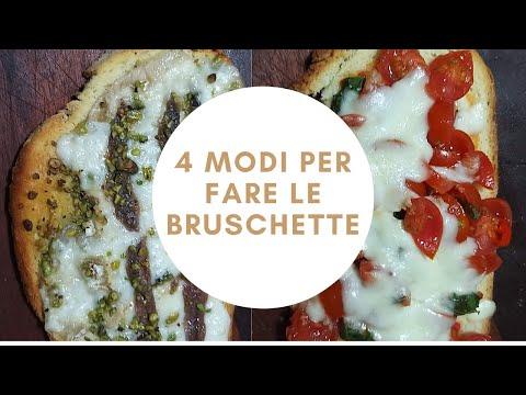 Come Fare Le Bruschette In 4 Modi                                         #incucinaconpaoloelora