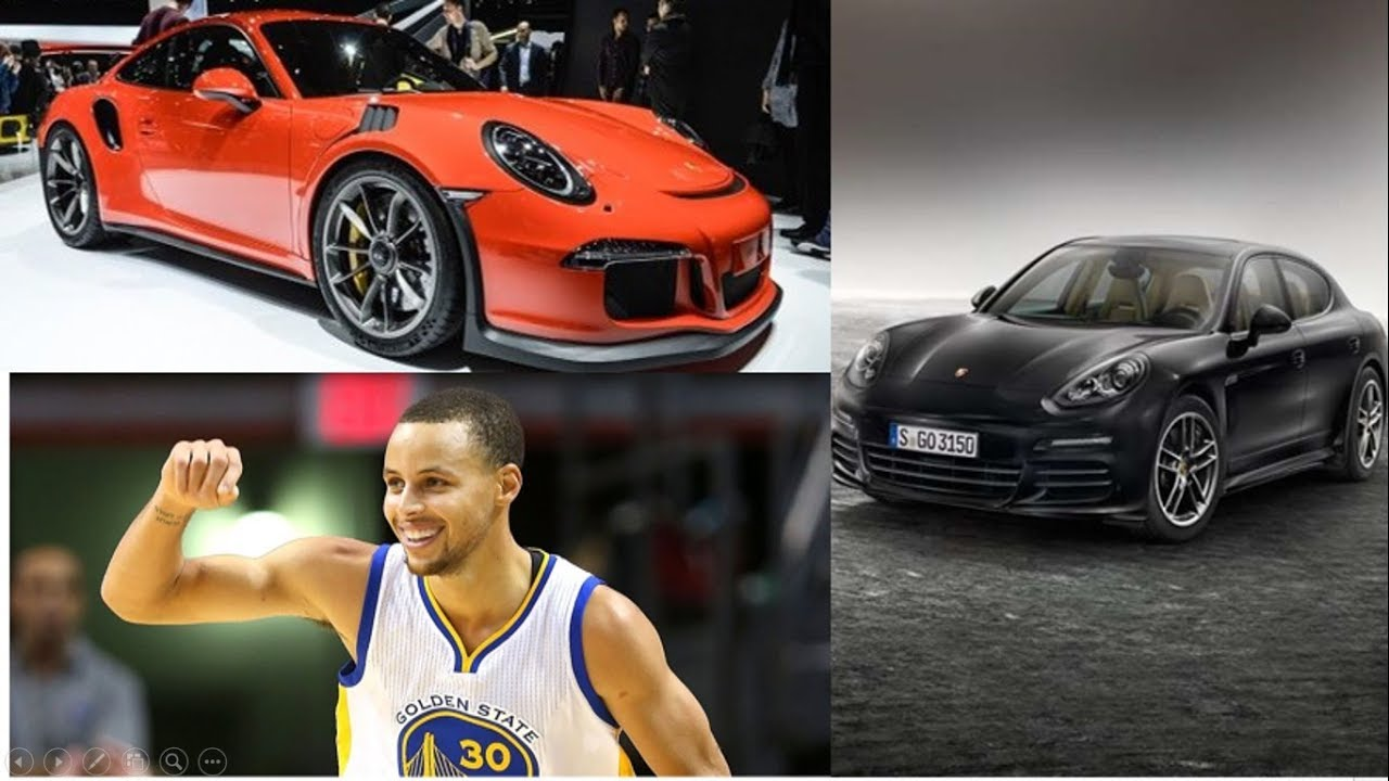 54756f78d Is Stephen Curry A Huge Fan Of All Things PORSCHE  - YouTube