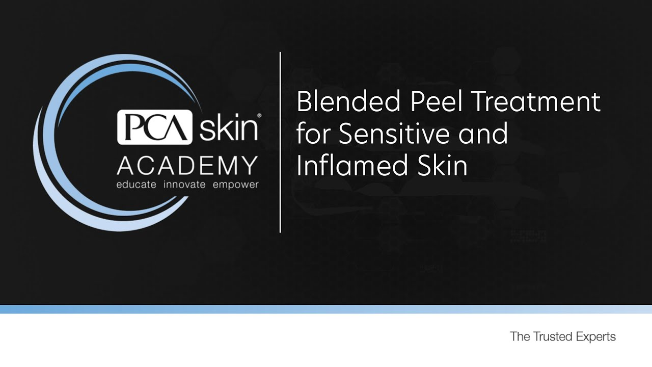 Click to open this video in a pop-up modal: Treatment Tuesday: Blended Peel Treatment for Sensitive & Inflammed Skin