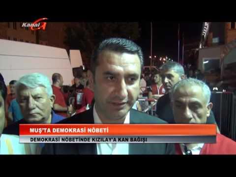 Kanal G - Muş'ta Demokrasi Şöleni