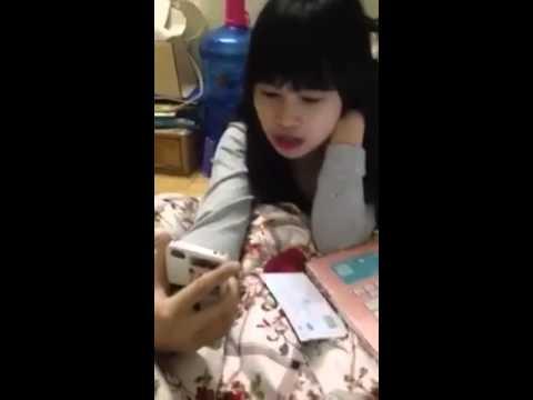 Clip tự sướng của một cô gái | Clip of a girl take a selfie