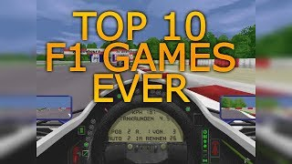 Top 10 Best F1 Games Ever!