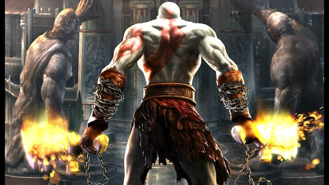 God Of War 2 All Cutscenes Game Movie 1080p 60fps Hd Youtube