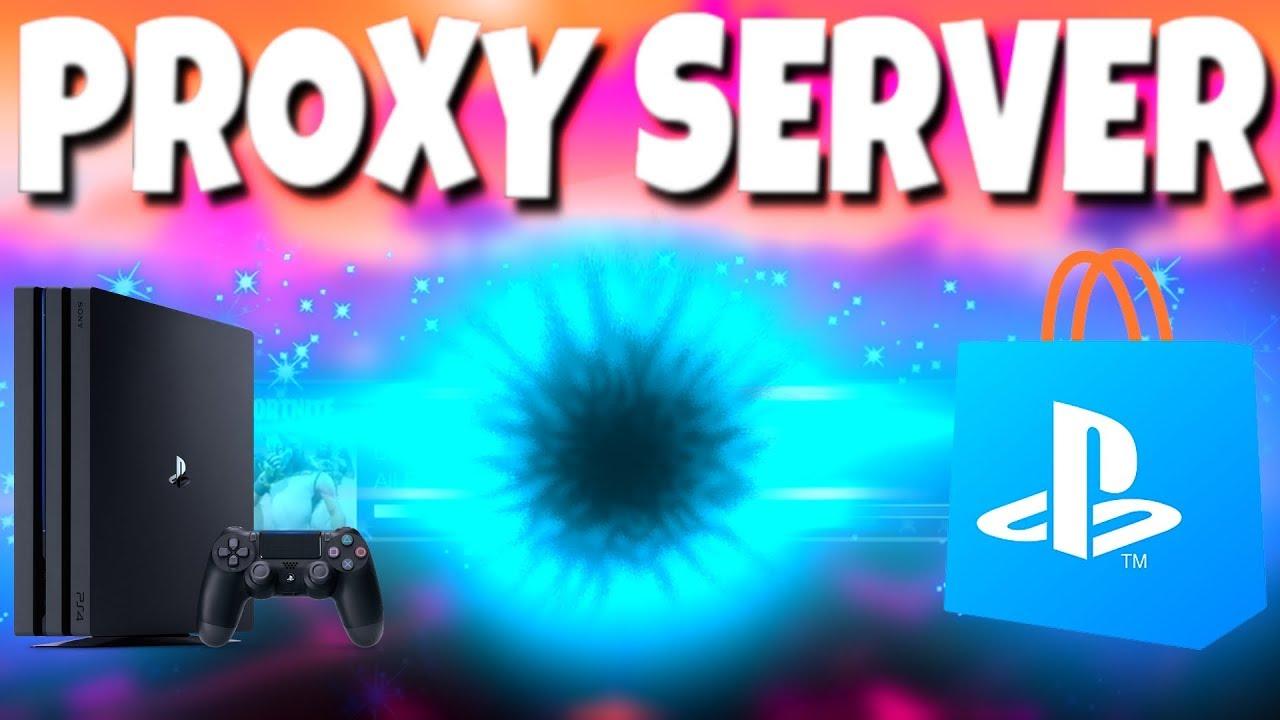 PROXY SERVER PS4 SETUP!!! (Faster Downloads???)