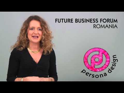 Persona Branding & Design Speaking at the Future Business Forum, Romania