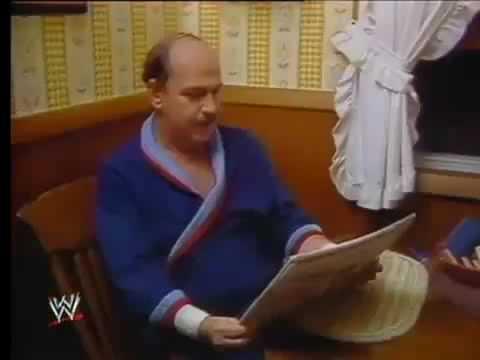 Hulk Hogan And Mean Gene Workout