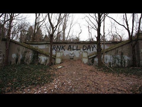 ABANDONED King Zog's Castle Ruins, The Knollwood Estate (URBEX)