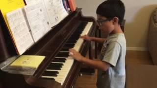 La Bamba on piano by Adam