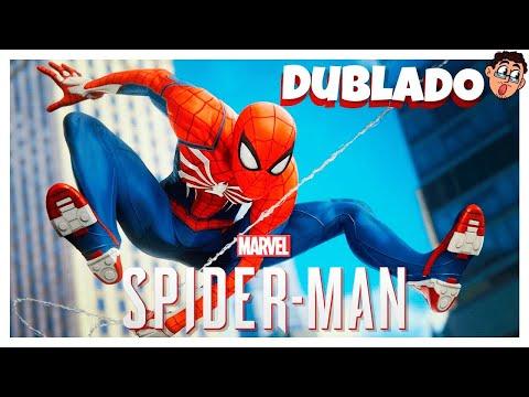 Marvels Spider.man. Homem Aranha PS4. A Primeira Gameplay Dublado e Legendado PT.BR Português
