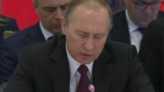 Путин победить терроризм можно только объединив усилия