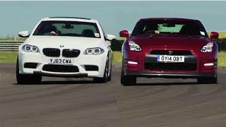 日本屈指のスーパースポーツ日産GT-R vs BMW M5ガチバトル!結果に海外が驚き!外国人「夢のようだよ・・」 thumbnail