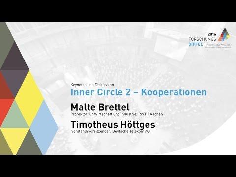 Forschungsgipfel 2016: Inner Circle 2 – Kooperationen