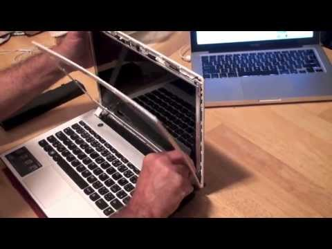 Laptop Screen Replacement / How To Replace Laptop Screen Lenovo Ideapad Z380