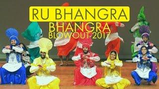RU Bhangra @ Bhangra Blowout 2017
