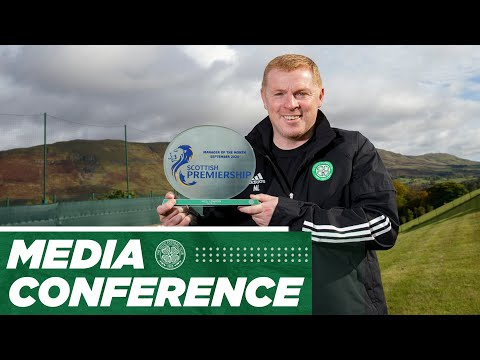 Media Conference: Manager of the Month, Neil Lennon! (06/10/