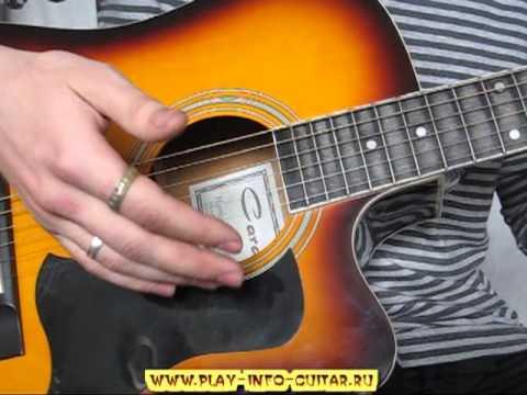 Интересные виды гитарного боя