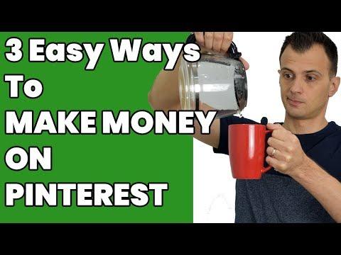 How to Make Money on Pinterest 2018 (3 Easy Ways)