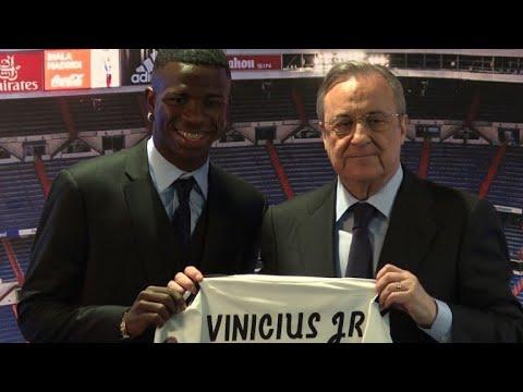 Le jeune brésilien Vinicius Jr au Real Madrid: