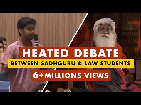 Download Sadhguru Owns The Provoked Law Students Who Try To Belittle His Work And Isha | Mystics of India Mp4 baru