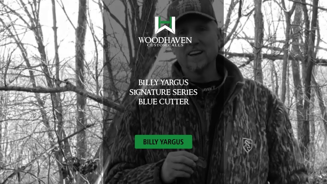 New WoodHaven Custom Calls Blue Cutter Billy Yargus Series Turkey Call WH079