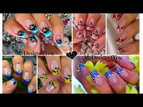 ♥ Nail Art Compilation |  Compilación De Diseños De Uñas