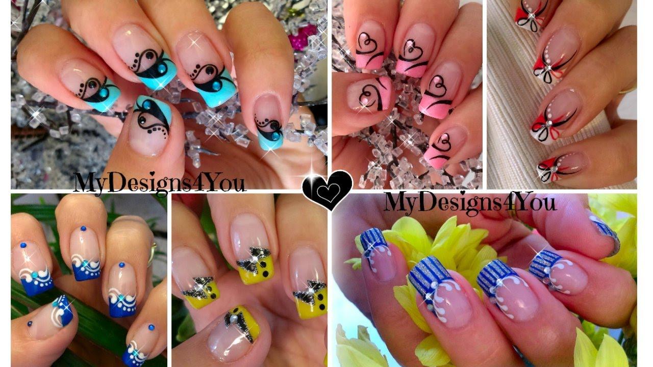Nail art designs compilation :