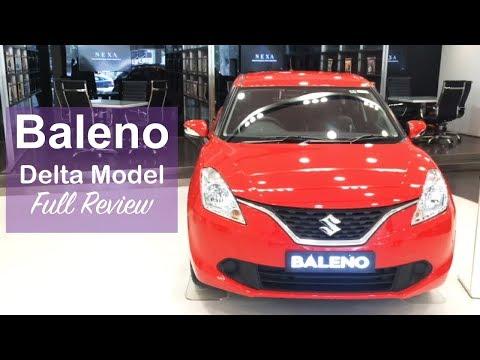 Maruti Baleno Delta Model Interior,exterior Walkaround And Full Review
