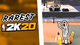 15 RAREST Dunks Of NBA 2K20