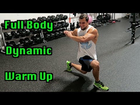Full Body 5 Minute Dynamic Warm Up for Intense Workouts