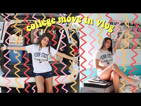 college move in vlog ft. mEnTaL bReAkDoWn (sophomore year)