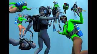 Frogwomen underwater battle 2012 (HD).mp4