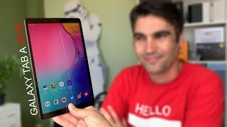 Samsung Galaxy Tab A 2019 | review en español