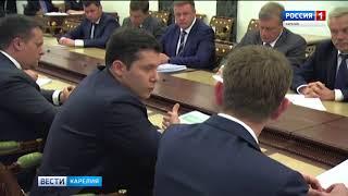 Артур Парфенчиков принял участие во встрече Путина с избранными губернаторами