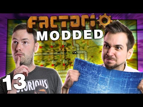 Modded Factorio #13 - Thin Mud Water