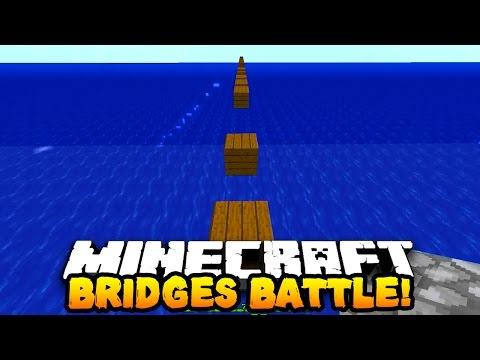 """Minecraft BRIDGES BATTLE """"EPIC WORLD GLITCH!"""" #16 w/ PrestonPlayz & PeteZahHutt"""
