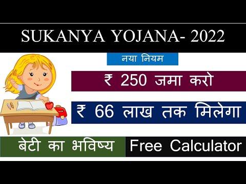 Sukanya Samriddhi Yojana in hindi 2021 | Sukanya Samriddhi Yojana calculator | SSY account
