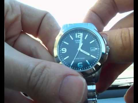 8d32b698cb8e Casio MTP-1215 Quartz - YouTube
