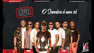 Que se Chama Amor / Marrom Bombom  - Grupo Jeitinho Brasileiro | Live O Samba é um Só