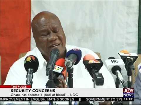 Security Concerns - The Pulse on JoyNews (20-7-17)