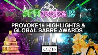 Highlights: PRovoke19 & Global SABRE Awards