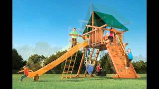 Memphis Wooden Playset- Call 901-588-3523 - Happy Backyards