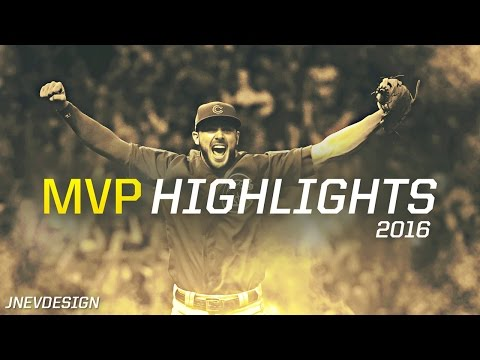 MLB Kris Bryant NL MVP 2016 Highlights All Star Season HD - Chicago Cubs
