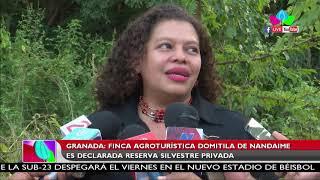 Finca agroturística Domitila de Nandaime es declarada reserva silvestre privada