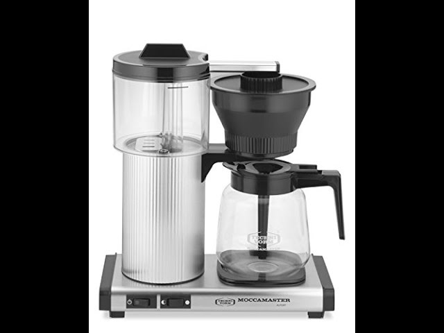 Technivorm Moccamaster 15 Cup Coffee Brewer Brushed Review