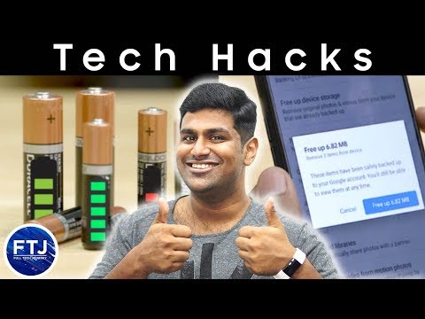 10 Genius Tech Hacks That Will Save Your Time And Money!!!