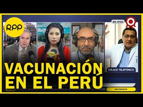 """Coronavirus en Perú: """"El impacto de las dos vacunas es muy importante, reduce la hospitalización"""""""